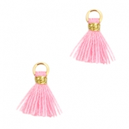 Nappine mini in stile Ibiza oro - rosa